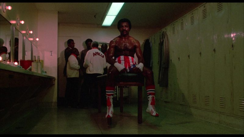 Adidas Boxing Shoes Worn by Carl Weathers (Apollo Creed) in Rocky (1976) Movie Product Placement