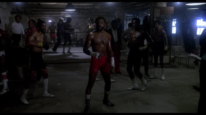 Adidas Boxing Shoes in Rocky 3 (1982) - Movie Product Placement