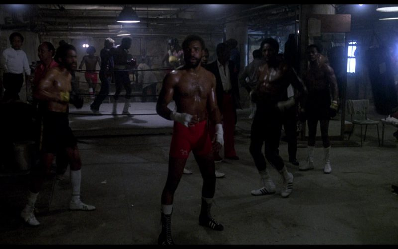Adidas Boxing Shoes in Rocky 3