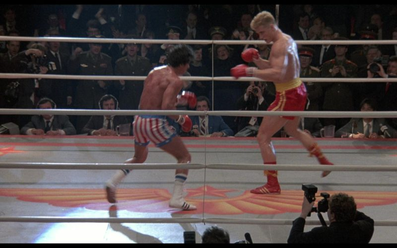 Adidas Boxing White Shoes Worn by Sylvester Stallone (Rocky Balboa) in Rocky 4 (1)