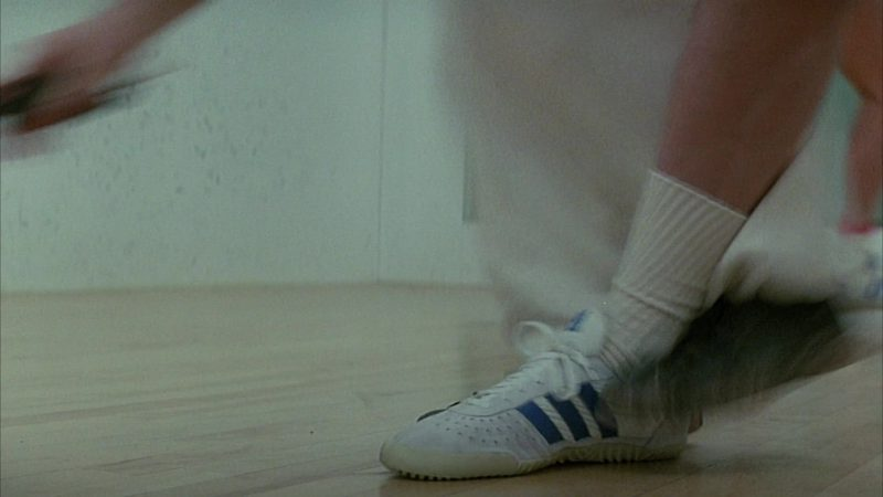 Adidas Men's Shoes in Head Office (1985) Movie Product Placement