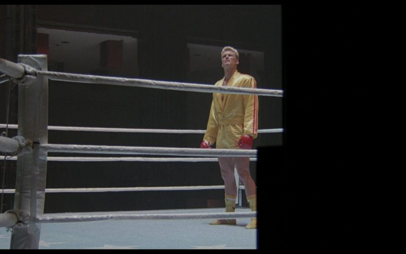 Adidas Sportswear and Boxing Shoes Worn by Dolph Lundgren (Captain Ivan Drago) in Rocky 4 (1)
