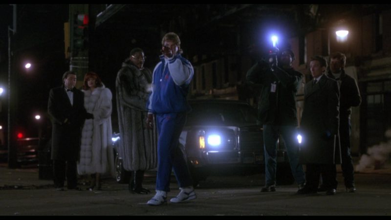 Adidas Tracksuit and Shoes Worn by Tommy Morrison (Tommy Gunn) in Rocky 5 (1990) Movie Product Placement