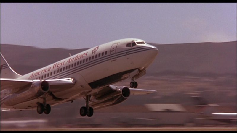 America West Airlines Aircraft in When a Man Loves a Woman (1994) Movie Product Placement