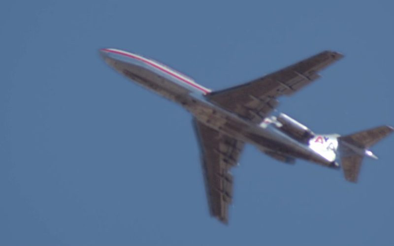 American Airlines Aircraft in Time After Time