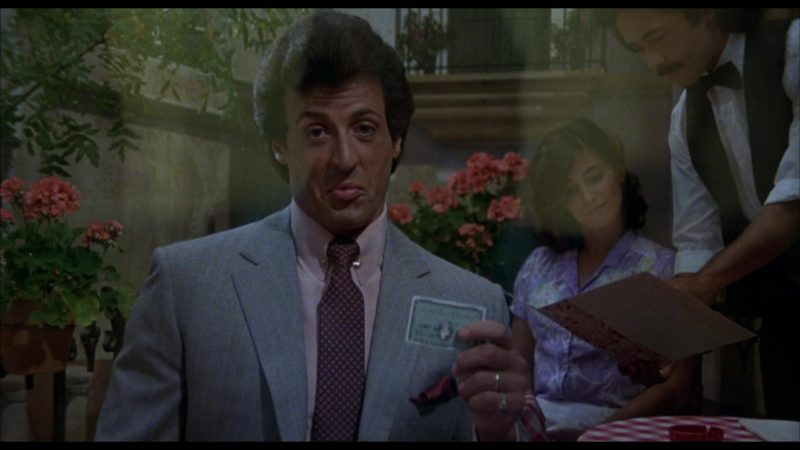 American Express Credit Card Held by Sylvester Stallone (Rocky Balboa) in Rocky 3 (1982) Movie Product Placement