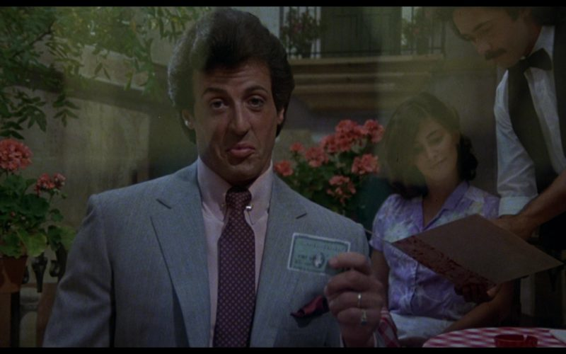 American Express Credit Card Held by Sylvester Stallone (Rocky Balboa) in Rocky 3 (1)