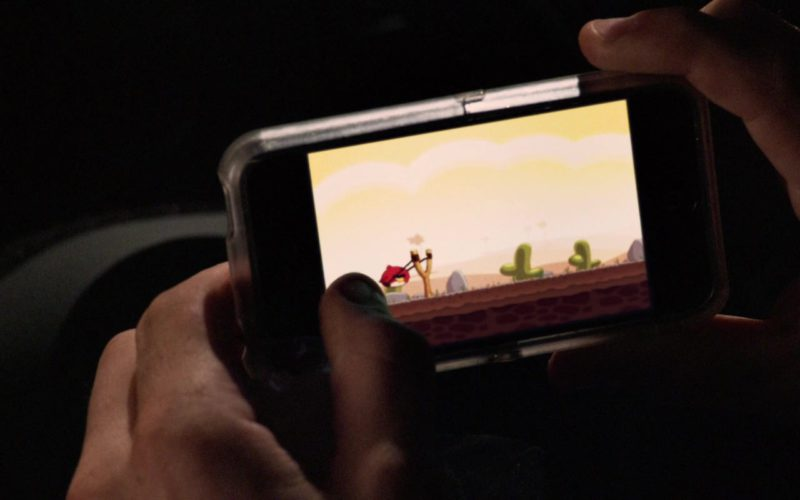 Angry Birds Casual Puzzle Video Game Developed by Rovio Entertainment in Horrible Bosses (1)