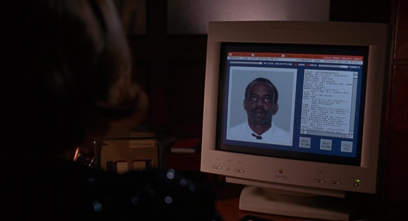 Apple Computer Used by Joan Cusack in Grosse Pointe Blank (1997) Movie Product Placement