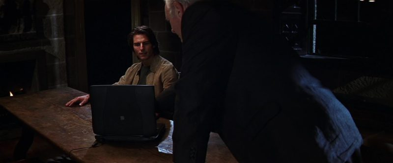 Apple Laptop Used by Tom Cruise in Mission: Impossible II (2000) Movie Product Placement