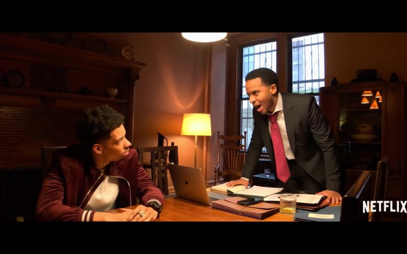 Apple MacBook Laptop Used by Andre Holland in High Flying Bird (2)
