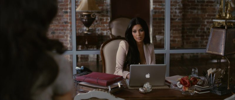 Apple MacBook Laptop Used by Kim Kardashian in Temptation: Confessions of a Marriage Counselor (2013) Movie Product Placement