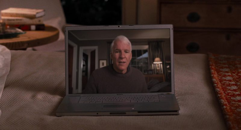 Apple MacBook Pro Laptop Used by Alec Baldwin in It's Complicated (2009) Movie Product Placement
