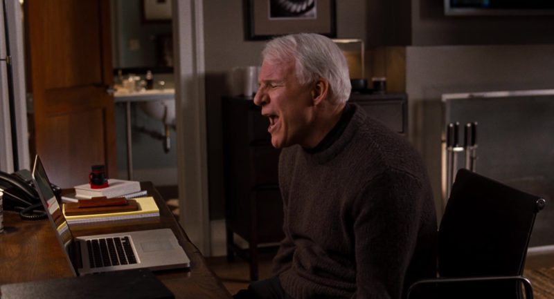 Apple MacBook Pro Laptop Used by Steve Martin in It's Complicated (2009) Movie Product Placement