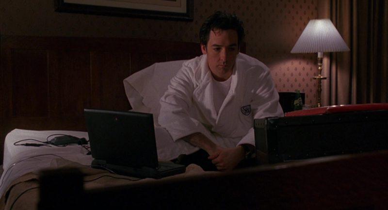 Apple Macintosh PowerBook Laptop Used by John Cusack in Grosse Pointe Blank (1997) Movie Product Placement