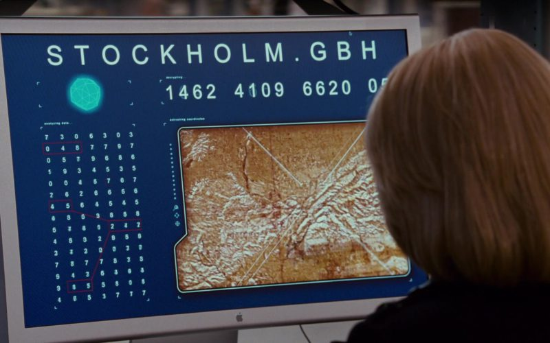 Apple Thunderbolt Display Used by Katherine Boecher in The Spy Next Door (1)