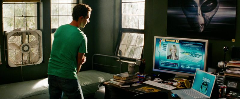 Apple Thunderbolt Display and MacBook Laptop in Transformers: Revenge of the Fallen (2009) Movie Product Placement