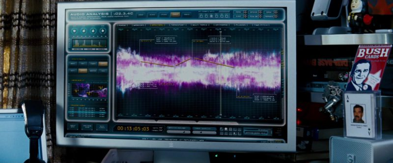 Apple Thunderbolt Display in Transformers (2007) - Movie Product Placement