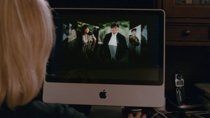 Apple iMac Computer Used by Katherine Boecher in The Spy Next Door (2010) - Movie Product Placement