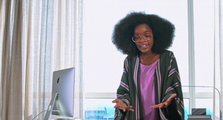 Apple iMac Computer Used by Marsai Martin in Little (2019) - Movie Product Placement