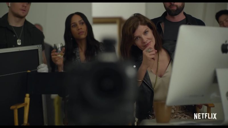 Apple iMac Computer Used by Rene Russo in Velvet Buzzsaw (2019) Movie Product Placement