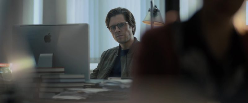 Apple iMac Computer Used by Sverrir Gudnason in The Girl in the Spider's Web (2018) - Movie Product Placement