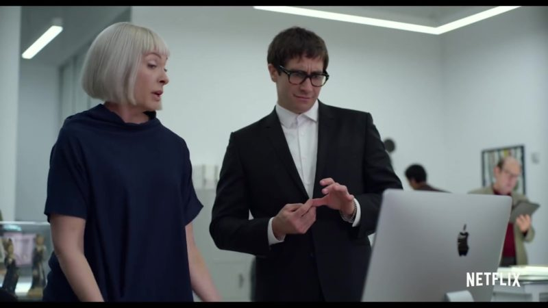 Apple iMac Computer Used by Toni Collette and Jake Gyllenhaal in Velvet Buzzsaw (2019) - Movie Product Placement