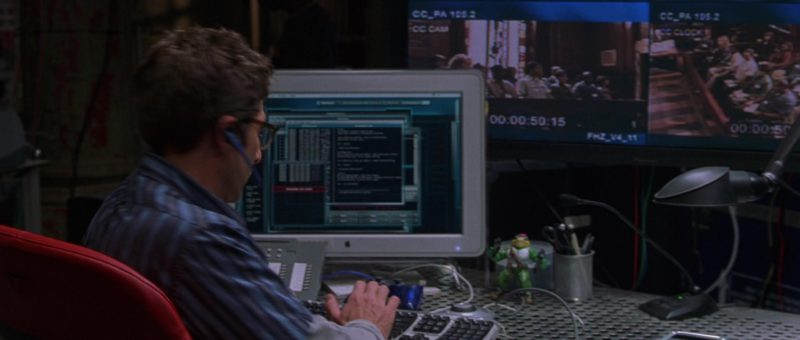 Apple iMac Computers in Runaway Jury (2003) Movie Product Placement