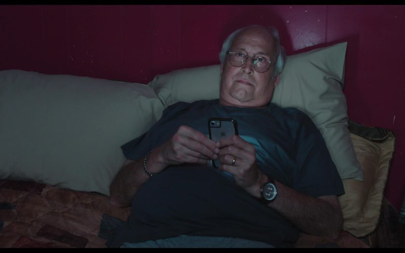 Apple iPhone Smartphone Used by Chevy Chase in The Last Laugh
