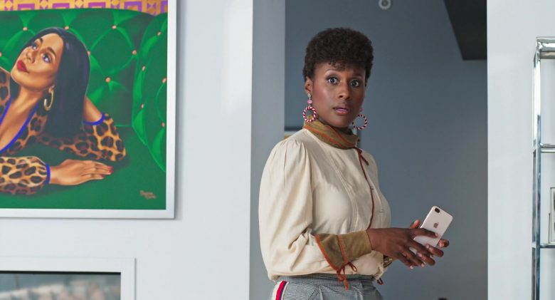 Apple iPhone Smartphone Used by Issa Rae in Little (2019) Movie Product Placement
