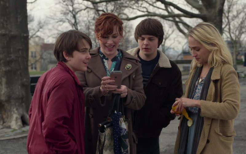 Apple iPhone Smartphone Used by Molly Ringwald in All These Small Moments (1)