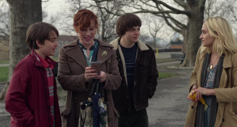 Apple iPhone Smartphone Used by Molly Ringwald in All These Small Moments (2018) - Movie Product Placement