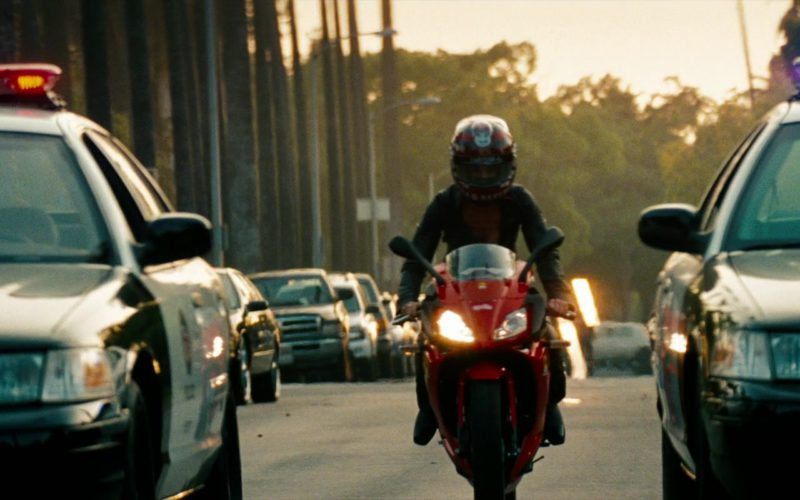 Aprilia RS125 Motorcycle Used by Megan Fox in Transformers (1)