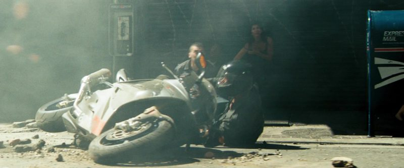 Aprilia RSV 1000 Motorcycle in Transformers (2007) Movie Product Placement