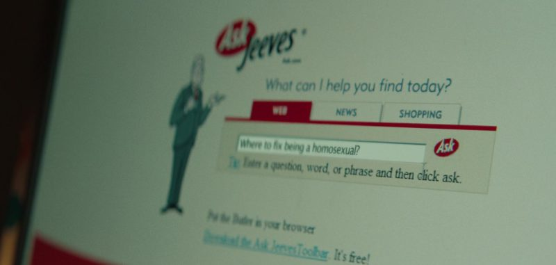 Ask.com (Ask Jeeves) Website in Summer '03 (2018) Movie Product Placement