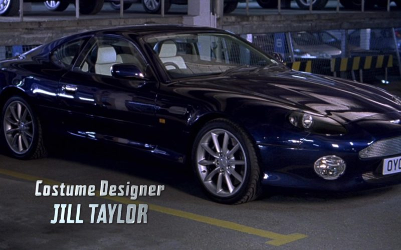 Aston Martin DB7 Vantage Sports Car Used by Rowan Atkinson in Johnny English (1)