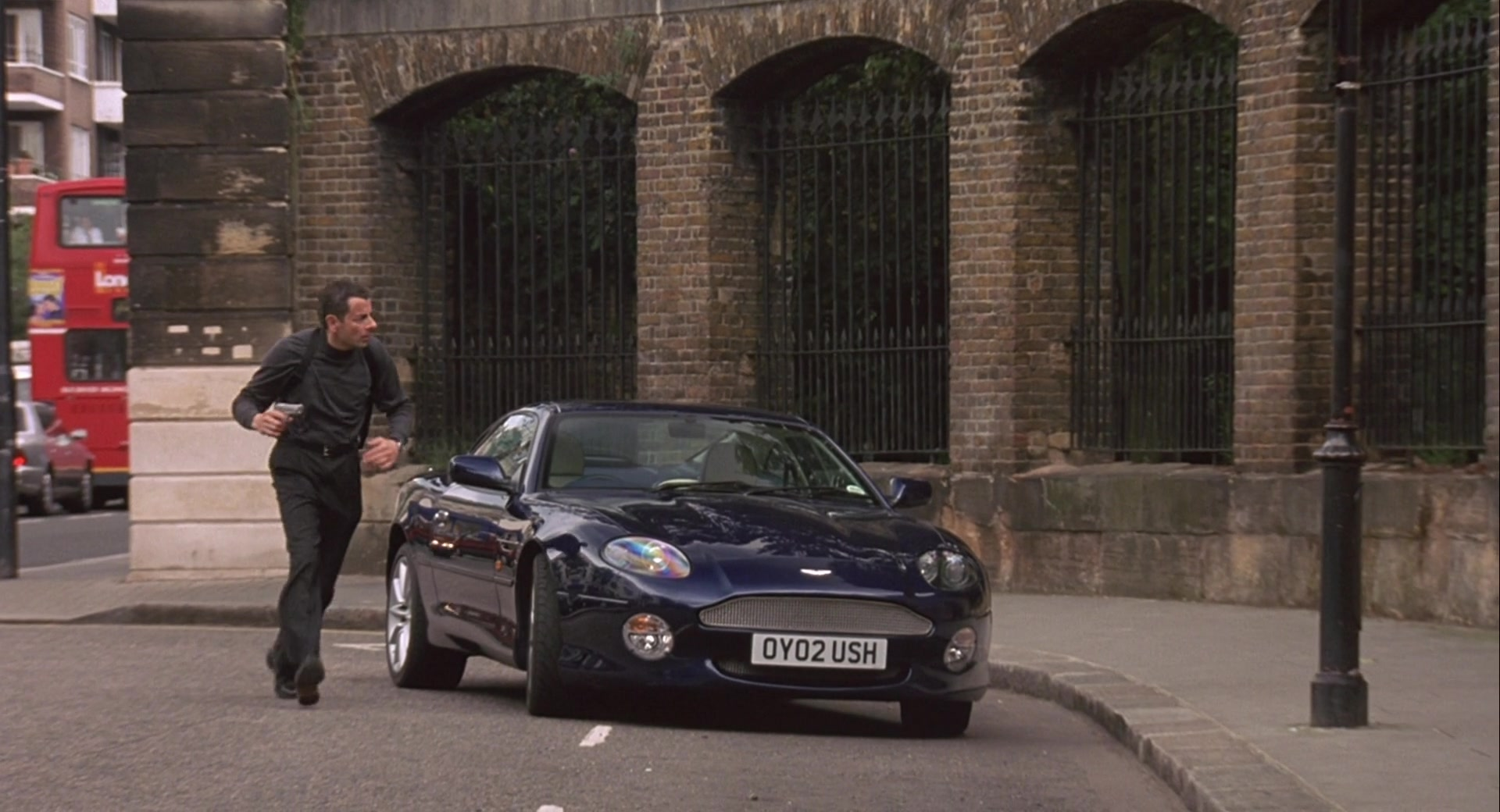 Aston Martin Db7 Vantage Sports Car Used By Rowan Atkinson In Johnny English 2003
