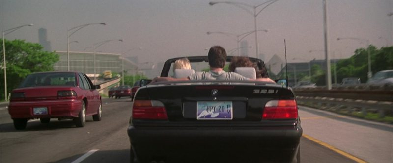 BMW 328i Cabrio [E36] Car Driven by Cameron Diaz in My Best Friend's Wedding (1997) Movie Product Placement