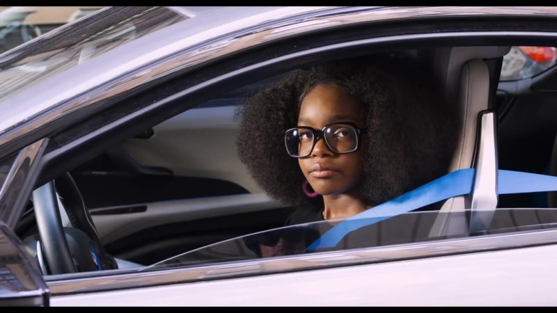 BMW i8 Car in Little (2019) - Movie Product Placement