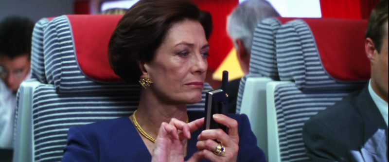 Bang&Olufsen Phone Used by Vanessa Redgrave in Mission: Impossible (1996) - Movie Product Placement