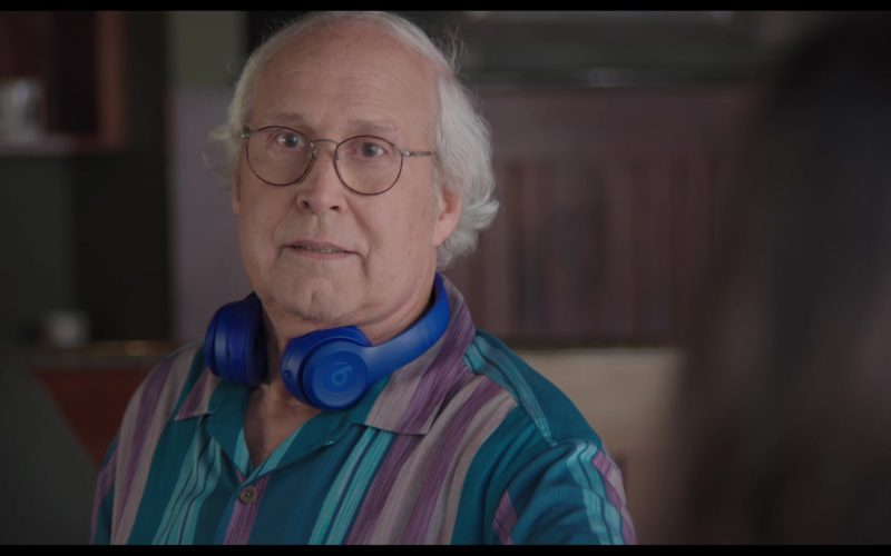 Beats Blue Headphones Used by Chevy Chase in The Last Laugh (1)