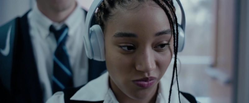 Beats Headphones Used by Amandla Stenberg in The Hate U Give (2018) Movie Product Placement