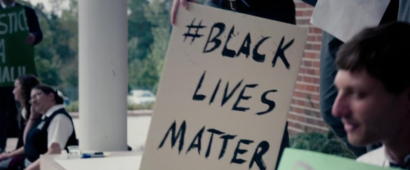 Black Lives Matter in The Hate U Give (2018) Movie Product Placement