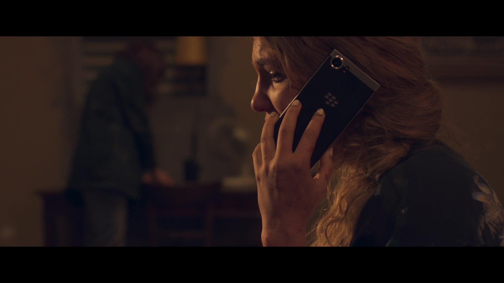 BlackBerry Smartphone Used by Sophie Nélis in Close (2019) Movie