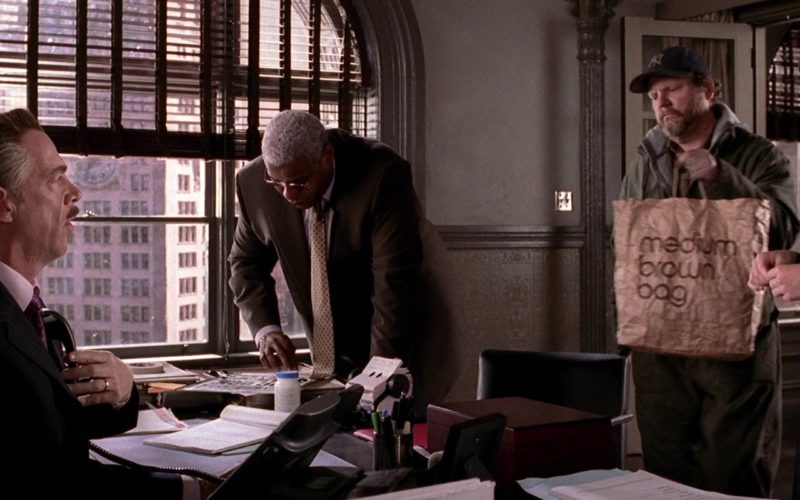 Bloomingdale's Medium Brown Bag in Spider-Man 2 (1)