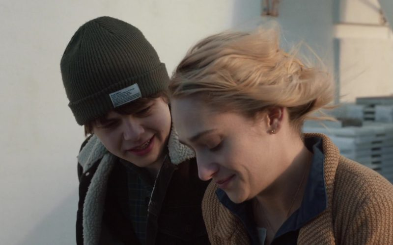 Blue Supply Co. Beanie Worn by Brendan Meyer in All These Small Moments (1)