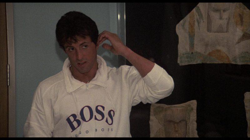 List Of Car Brands >> Boss Sweatshirt Worn by Sylvester Stallone (Rocky Balboa ...