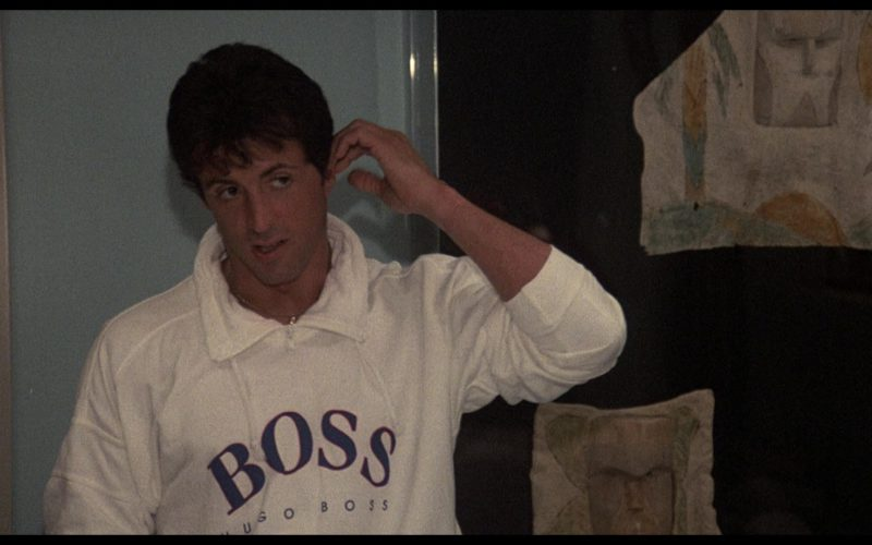 Boss Sweatshirt Worn by Sylvester Stallone (Rocky Balboa) in Rocky 4 (2)