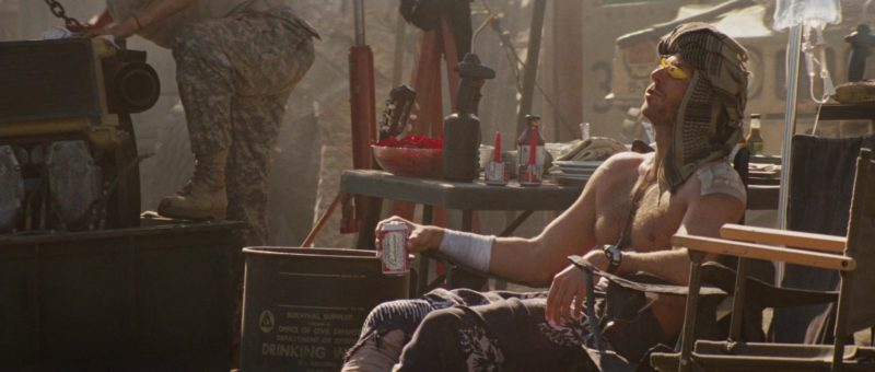 Budweiser Beer Drunk by Bradley Cooper in The A-Team (2010) - Movie Product Placement