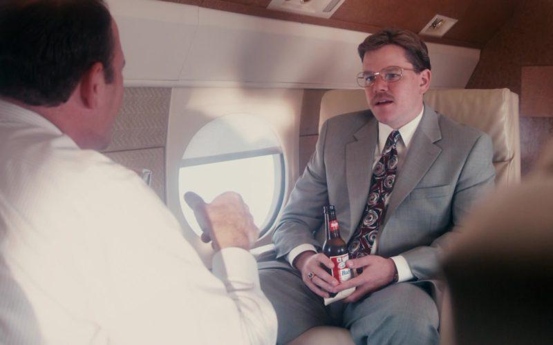Budweiser Beer Drunk by Matt Damon in The Informant (1)